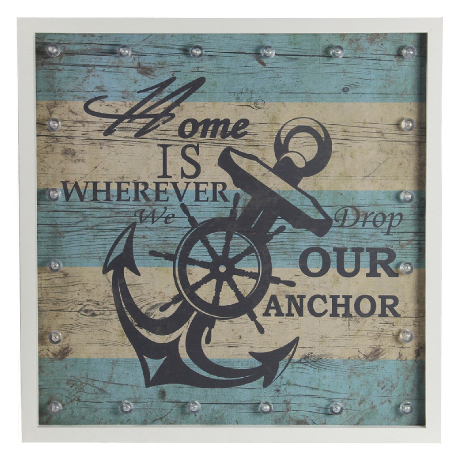 Privilege International Anchor LED Wall Art