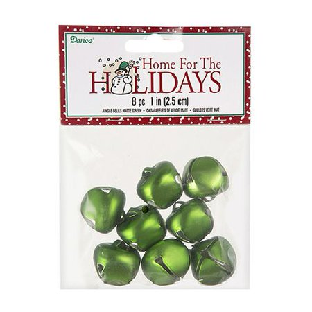 - Darice Bells Jingle Bells Matte Green 25mm