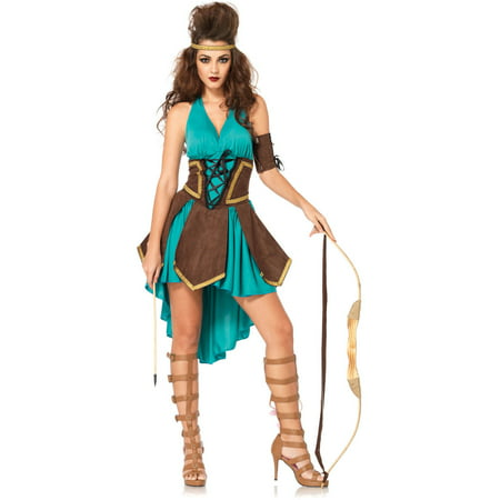 Leg Avenue Celtic Warrior Adult Halloween Costume - One Leg Flamingo Halloween Costume