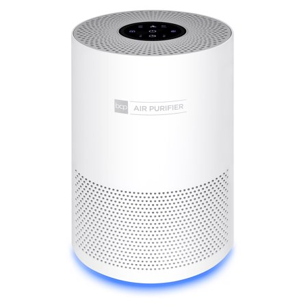 Best Choice Products Air Purifier for Home, Large Room Up to 140 Sq Ft with True HEPA Filter to Eliminate Allergens, Bacteria, Smoke, Dust, Pet Dander, Pollen with 3-Speed Fan, Sleep Mode, Child