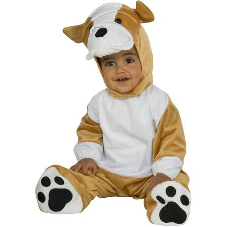 Bulldog Infant Jumpsuit Halloween Costume](Bulldog Halloween Costume)