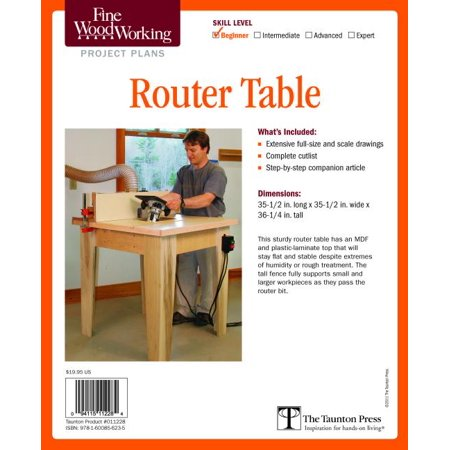 Fine Woodworking's Router Table Plan (Other)