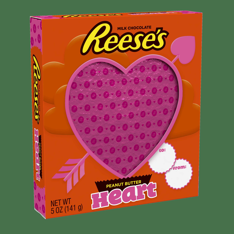 Reese's, Milk Chocolate Peanut Butter Valentine's Heart, 5 Oz.