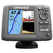 Lowrance HOOK-5 Nav+ Fishfinder Combo w/DownScan Imaging Technology Built-in CHIRP Sonar/ TrackBack