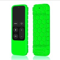 Fintie Silicone Case Cover for Apple TV 4K / 4th Gen Remote Controller, Green