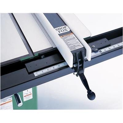 - Precision Replacement Rip Fence for Larger Table Saw 7' Rails Up to 54