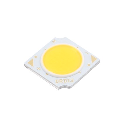 DC 45-50V 15W 13mmx13mm Square COB  Chip High Power Beads Light Pure White ()