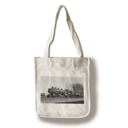 Union Pacific Train Parked (100% Cotton Tote Bag - Reusable)