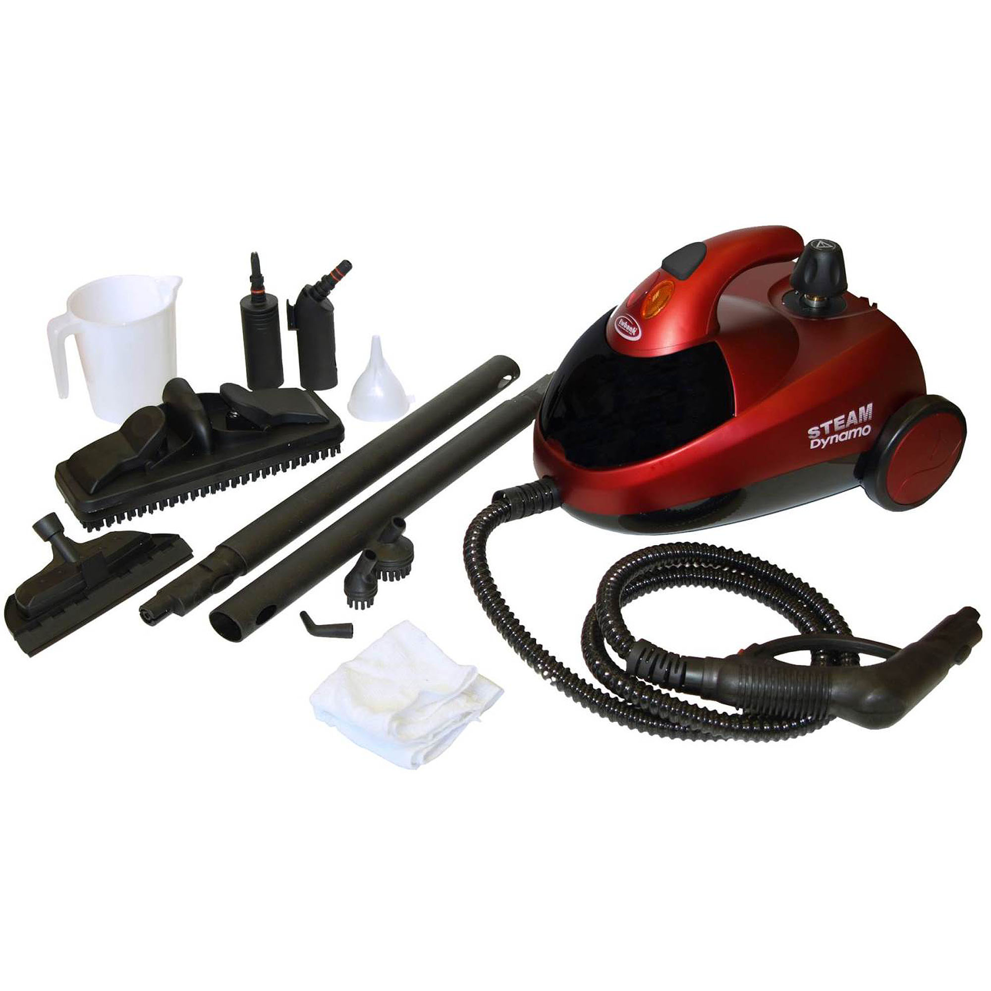 Ewbank SC1000 Steam Dynamo Pressurized Steam Cleaner, Red