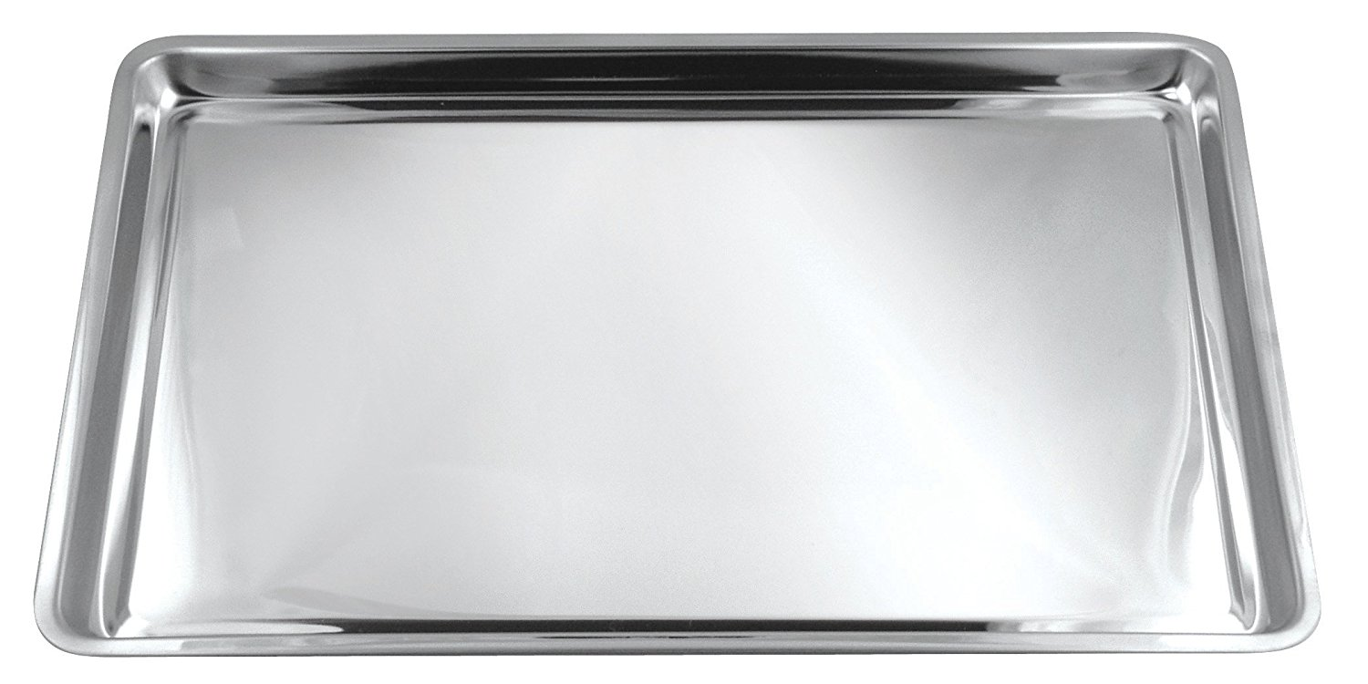 4855 Jelly Roll Cookie Pan, Stainless Steel, Overall dimensions: 16.25 x 11.25 x 0.75 inch, Interior: 10 x 15... by