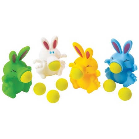 Sale Easter Bunny (Kids Bunny Rabbit Character Poppin Pals Toy Easter Basket Gift w 3 Balls, 5.5