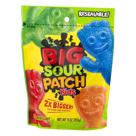 how to make a giant sour patch kid