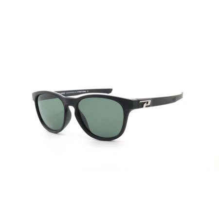 G15 Lens Sunglasses - Peppers Polarized Sunglasses Five Degrees Black with Polarized G15 Lens