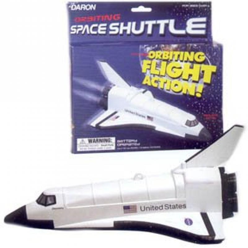 Daron Flying Space Shuttle on a String