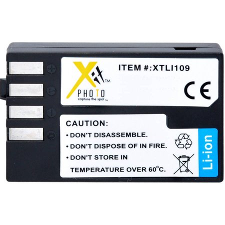Xit Replacement Battery For Pentax Li 109 Walmartcom
