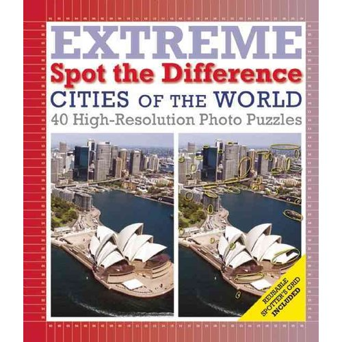 Extreme Spot the Difference: Cities of the World