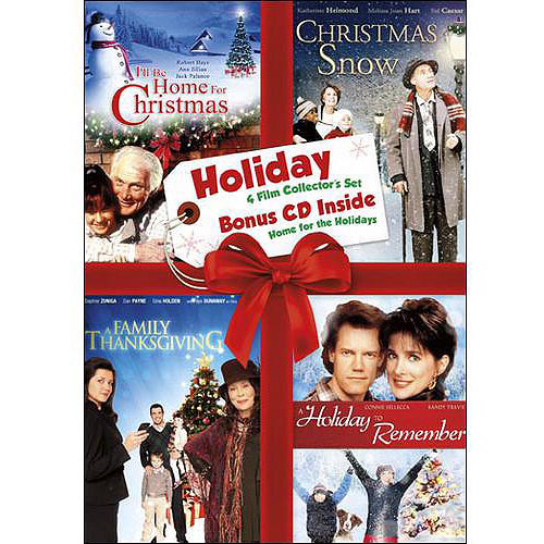 Holiday Collector's Set, Vol.5 - A Family Thanksgiving / Holiday To Remember / I'll Be Home For Christmas / Christmas Snow (With Home For The Holidays CD)