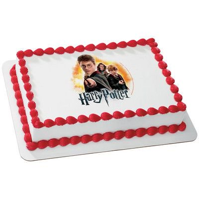 Harry Potter 1 4 Quarter Sheet Edible Photo Image Cake Decoration