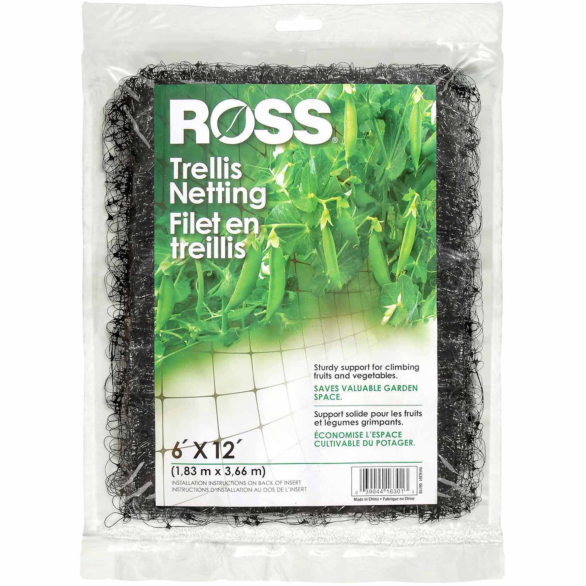 Ross Easy Gardener/Weedblock 6' x 12' Trellis Netting