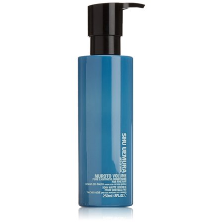 Muroto Volume Pure Lightness Conditioner for Fine Hair, 8 Ounce, Tone with lightweight conditioning By Shu