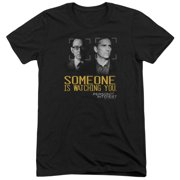 Person Of Interest Someone Mens Tri-Blend Short Sleeve Shirt