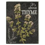 Blossom Bucket 'Thyme' Box Sign Wall D cor
