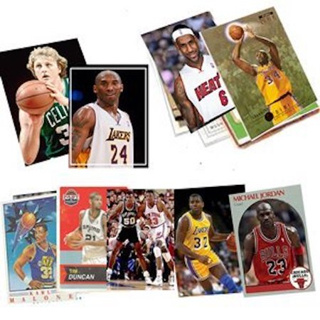 40 Basketball Hall-of-Fame & Superstar Card Collection ~ IN HINGED PLASTIC