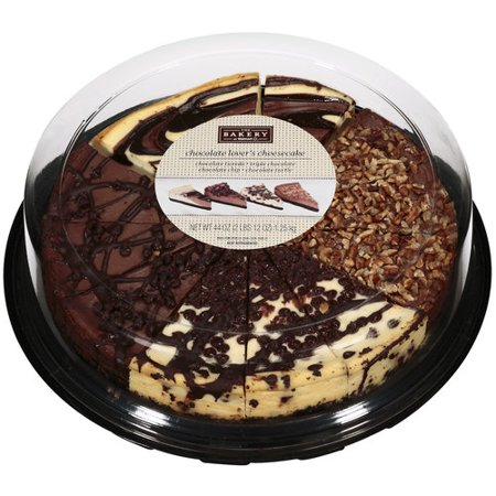 The Bakery At Walmart Chocolate Lovers Cheesecake Variety Tray 44