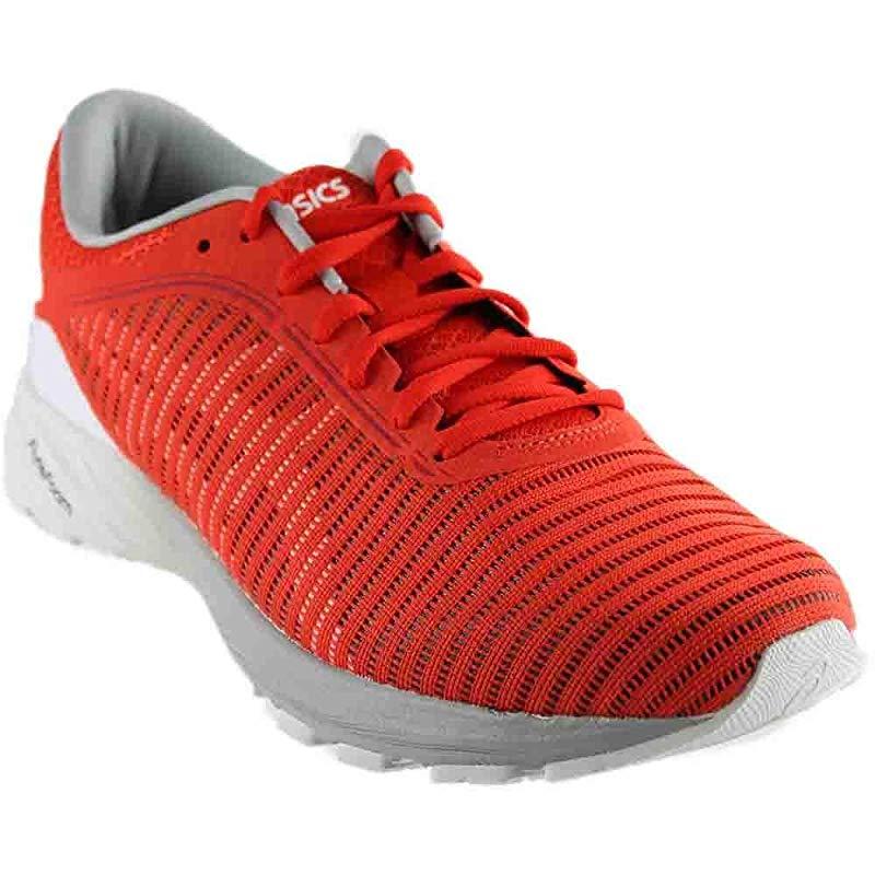 ASICS ASICS Men's Dynaflyte 2 Running Shoe, Cherry TomatoWhiteMid Grey, 10 D US