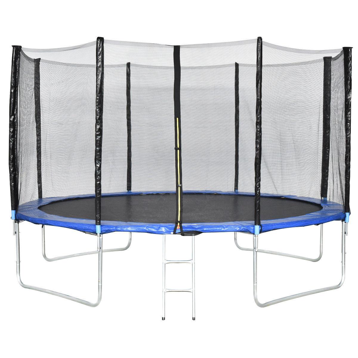 Gymax 13 FT Trampoline Combo Bounce Jump Safety Enclosure Net W/Spring Pad Ladder