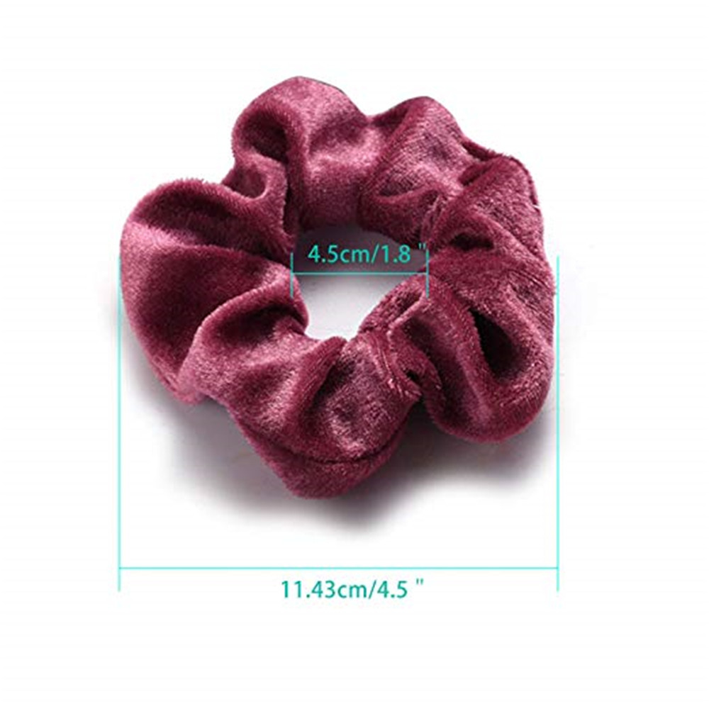 36Pcs Hair Scrunchies Velvet Elastic Hair Bands for Women/&Girl Hair Accessories