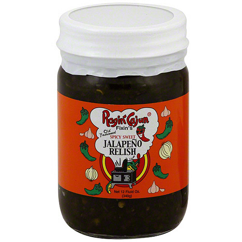 Ragin' Cajun Spicy Sweet Jalapeno Relish, 12 oz (Pack of 12)