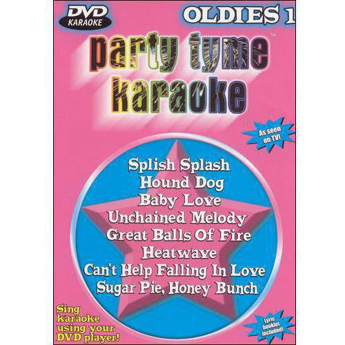Party Tyme Karaoke: Oldies - Volume 1 (Music DVD)
