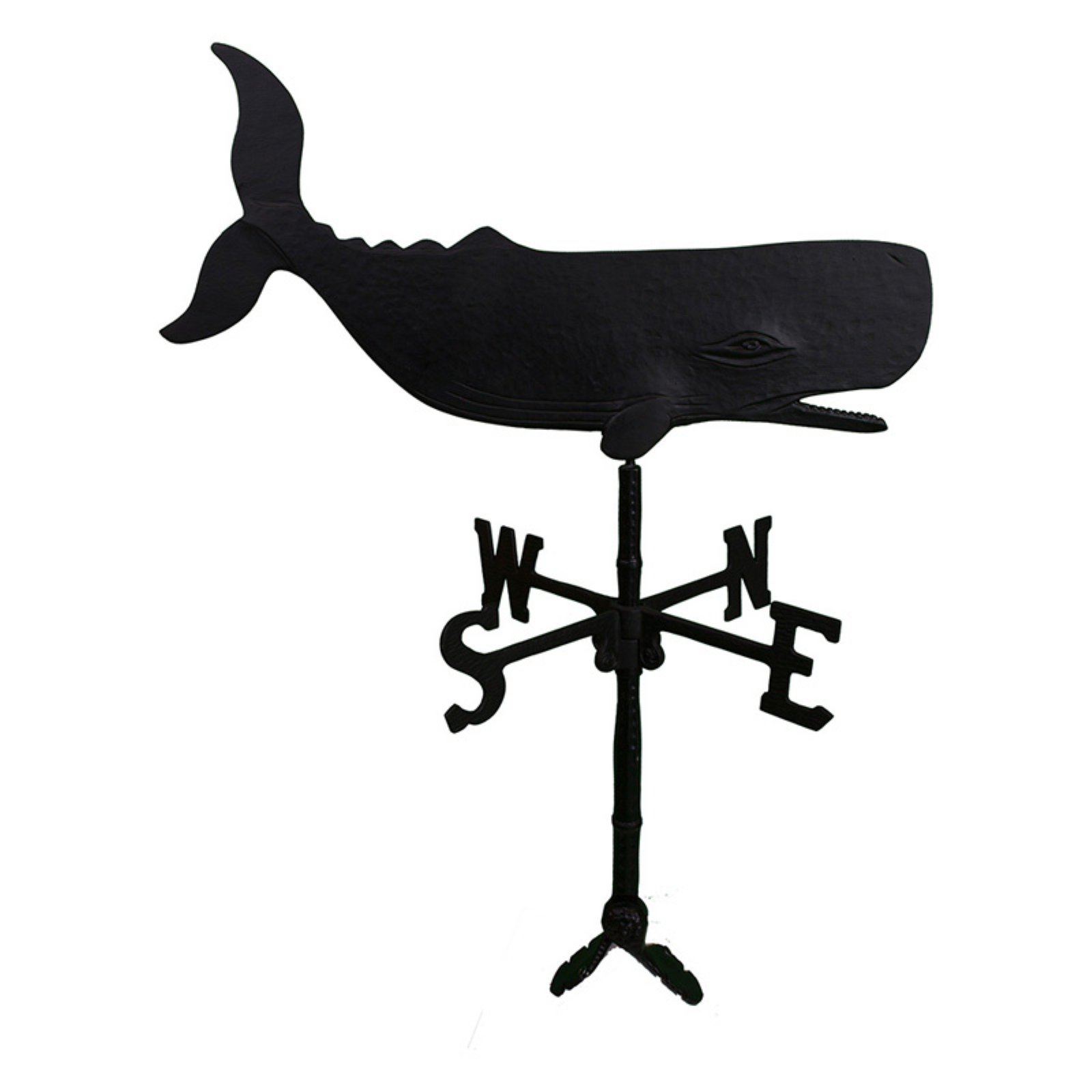 Black Whale Weathervane 32 in. by Montague Metal Products