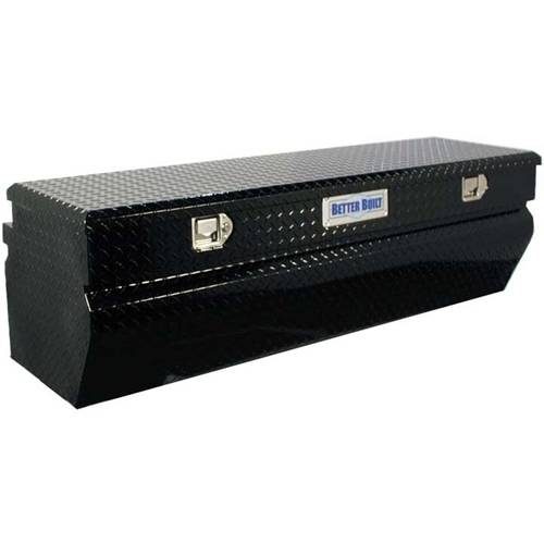 BETTER BUILT 62210098 SINGLE LID TRUCK TOOL CHEST, BLACK, 56INLX20INWX18INH
