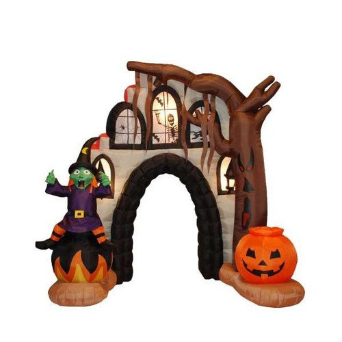 BZB Goods Halloween Inflatable Haunted House Arch Decoration