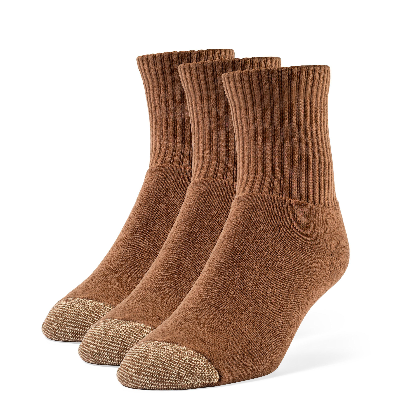 Women's Cotton Extra Soft Quarter Cushion Socks - 3 Pairs