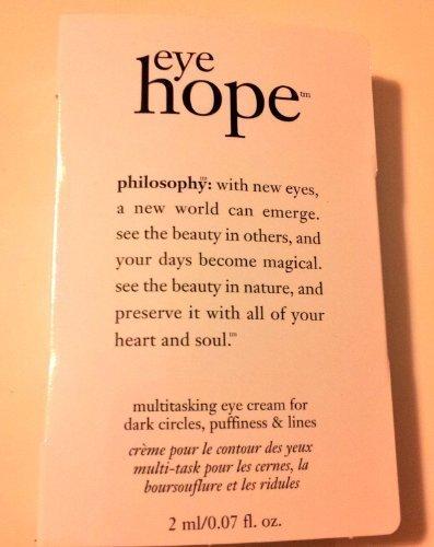Philosophy Eye Hope, Advanced Anti-Aging Eye Cream, DLX Sampe, .07 oz. Clarins Super Restorative Day Cream ( For Very Dry Skin )--/1.7oz