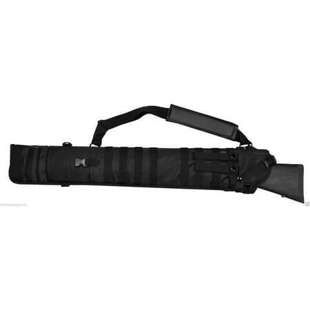 Remington 870 Shotgun Tactical Scabbard Padded Sling Case Black.