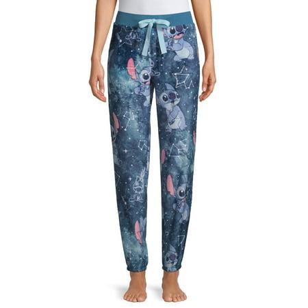 Disney Stitch Womens and Womens Jogger Pajama Pant