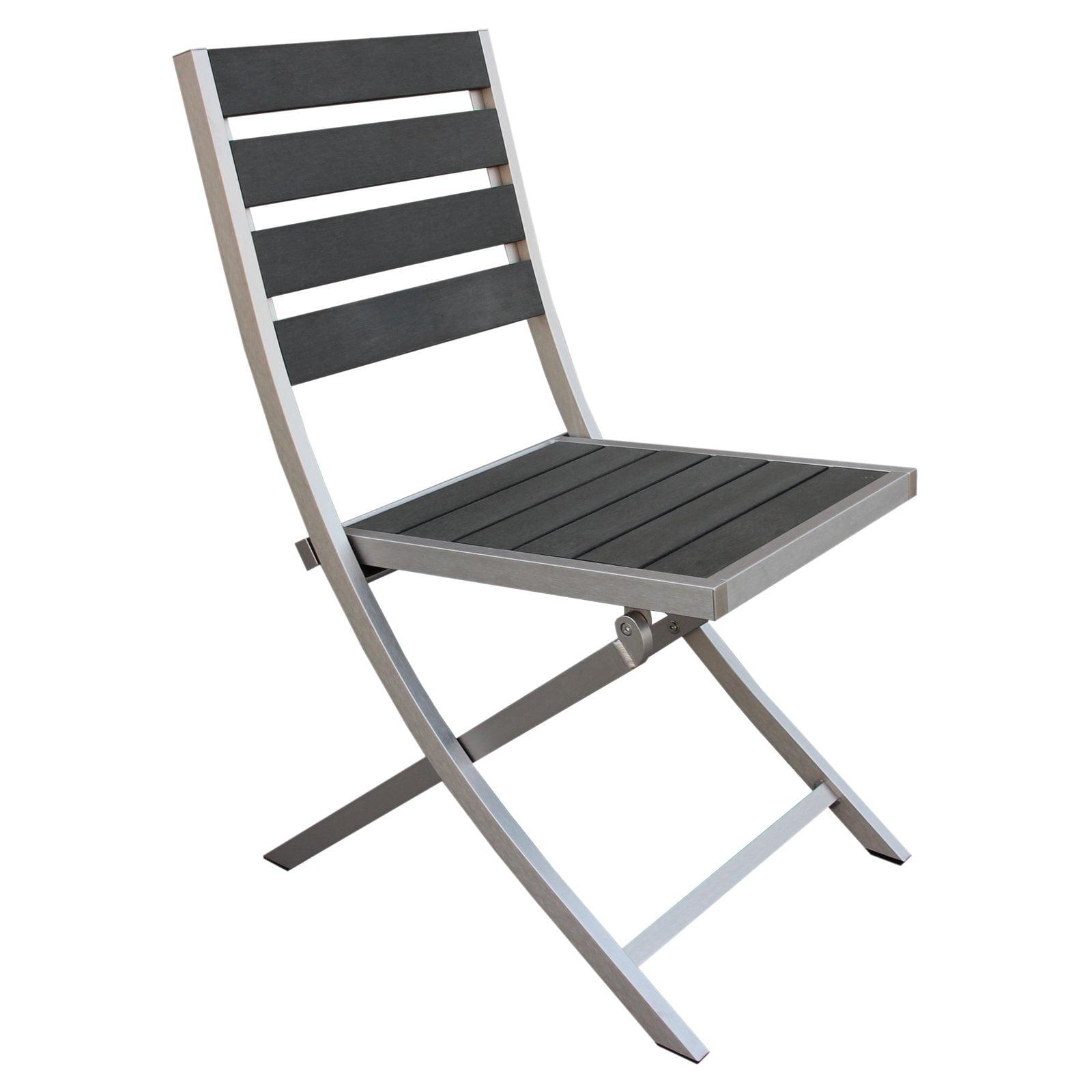 Boraam Fresca Polylumber Folding Chairs - Set of 2