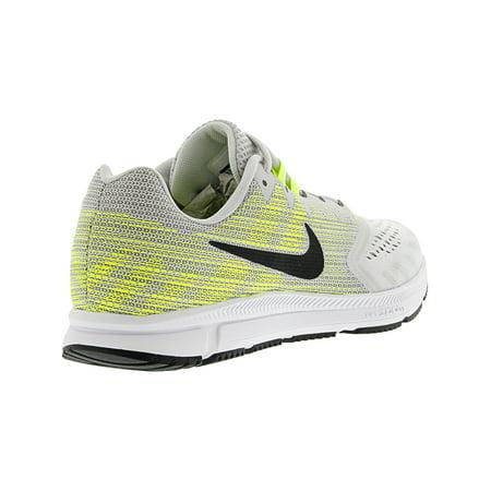 dc7f4407e9d Nike Men s Zoom Span 2 Gunsmoke   Total Crimson - Black Ankle-High Running  Shoe ...