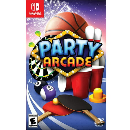 Party Arcade, Planet Entertainment, Nintendo Switch, 860108001251