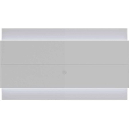 Manhattan Comfort Lincoln Floating Wall TV Panel 2.4 with LED Lights for TVs up to 80″, Multiple Colors