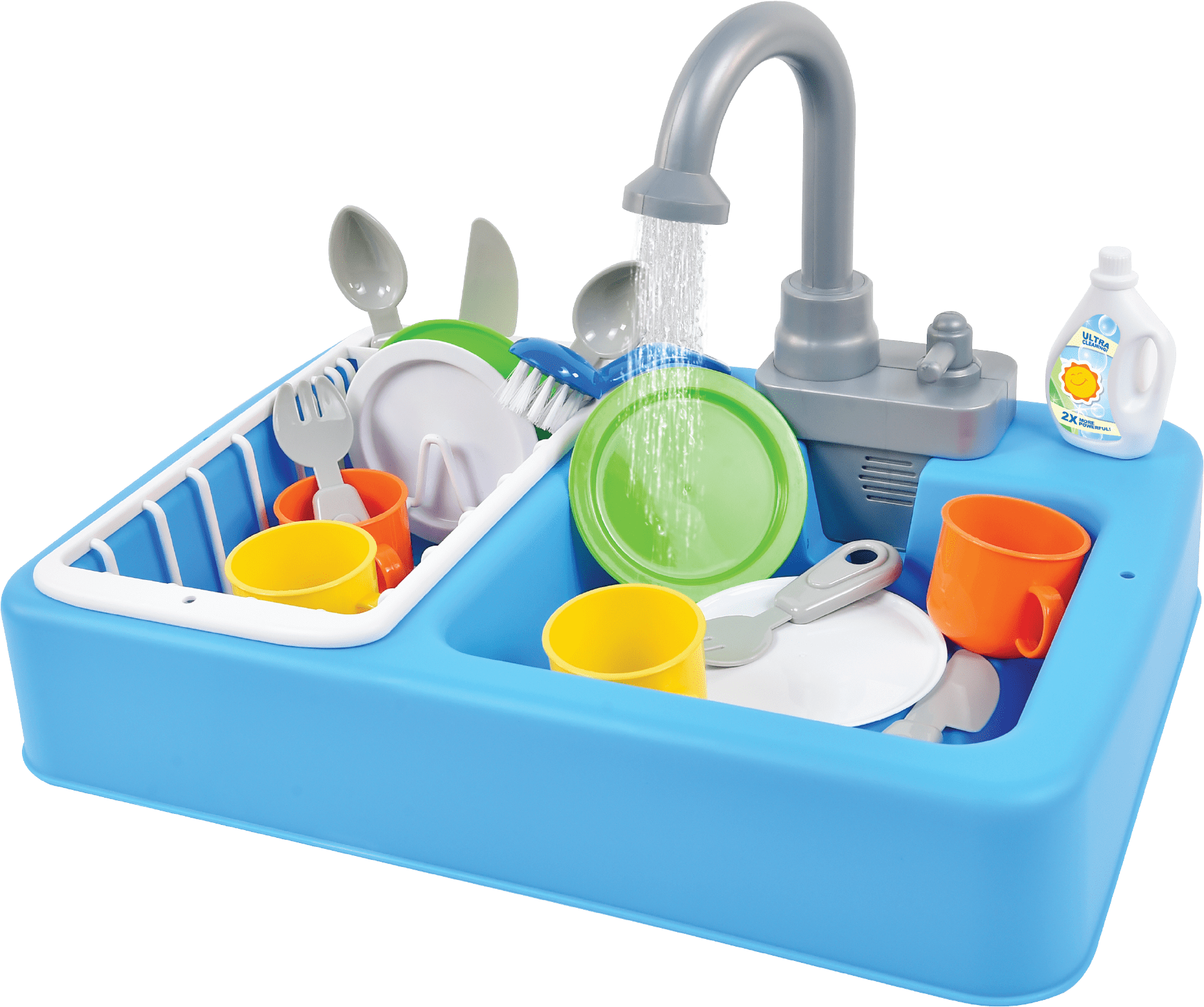 Sunny Days Entertainment Toy Kitchen Sink For Kids With Real Running Water Walmart Com Walmart Com