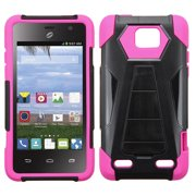 For Z995 Sonata 2, Z752C Zephyr Hot Pink Inverse Advanced Armor Stand Case Cover