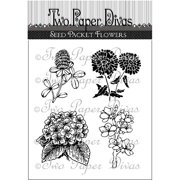 "Two Paper Divas Clear Stamps 6.5""x4.5""-s"