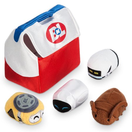 - Disney Usa 10th Anniversary Wall-e and Eve Mini Tsum Set Plush New with Tags