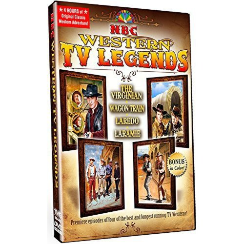 NBC Western TV Legends: The Virginian / Wagon Train / Laredo / Larame