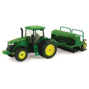 John Deere 7215R Tractor with Grain DrillOfficially licensed By Ertl Collectibles